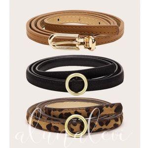 🔥😘Cognac Brown Sunny Belt